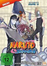 Naruto Shippuden Staffel 13 / Die sieben Shinobi-Schwertkämpfer 3x DVD-9 Sprec..
