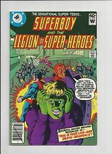 SUPERBOY AND THE LEGION OF SUPER-HEROES #256 WHITMAN VARIANT OCT 1979 VF-