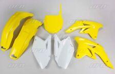 Kit plastique UFO motocross Suzuki RMZ 250 2009 origine jaune