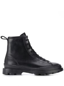 Camper Size 42 black Brutus lace up boots in as new condition