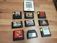 🌟Joblot of 10 Sega Mega Drive Games🌟Bundle🌟