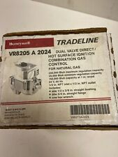"HONEYWELL VR8205A2024 Gas Valve,1/2"",24V,DSI Dual Main,LP Kit"