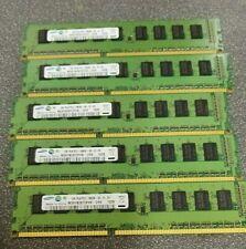 5x Samsung M391B2873FH0-CH9 1GB 1Rx8 PC3-10600E ECC Memory Modules