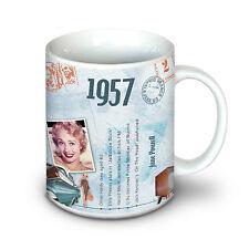 1957 60th Birthday Gifts - 1957 Mug For A Man or Woman