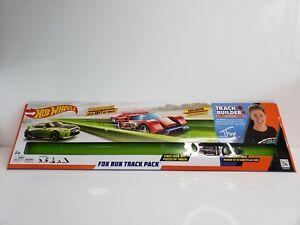 Mattel Hot Wheels Track Builder Fox Run Track Pack Tanner Fox Nissan GT-R Green