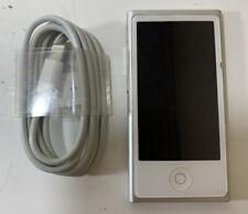 Apple iPod nano 7th Generation (16GB) - SILVER- Nice Shape - SHIPS FAST