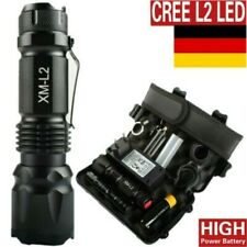 80000lm verdadera policía linterna cree xml-l2 LED militar & una táctica antorcha DHL