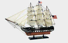 "24"" USS CONSTITUTION USA AMERICA CIVIL WAR PIRATE FLAG Wood Vintage Model Ship"