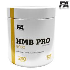 HMB PRO 8000 250 Tablets - 125 SERVINGS - Lean Muscle Builder & Fat Loss Pills