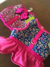 Set Of Top Paw Dog Harness Adorable Vest Style GIRL Size XS