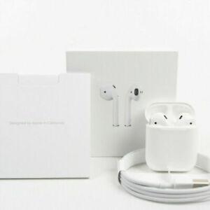 Sellado Apple Airpods 2nd Gen Generation con estuche de carga inalámbrica Blanco