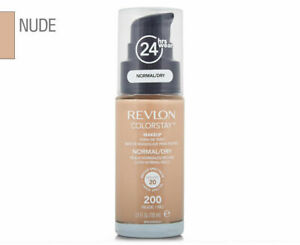 REVLON Colorstay Fond de teint liquide SPF20 N°200 Nude Peaux Normal Dry /EBHE