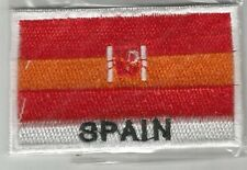 SPAIN ESPANA ESPAGNE drapeau nation flag écusson / patch 7x4.5 cm