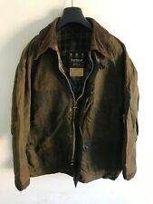 Mens Barbour Bedale wax jacket Dark Green coat 42 in size Medium / Large