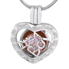 New Heart Boy Silver Plated Pearl Cage Pendant for Akoya Oyster Pearls Wish Gift