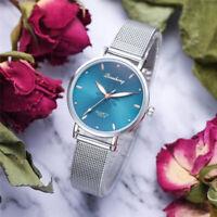 Women Luxury Wristwatches Metal Dial Flowers Bracelet Quartz Wrist Watch Hot