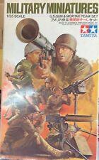 "Figurini 1/35 ""U.S. GUN & MORTAR TEAM SET"" - TAMIYA 3586"