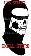 AMERICAN MADE GHOST SKULL BALACLAVA SKI MASK Face FULL SWAT HOOD MW2 100% COTTON
