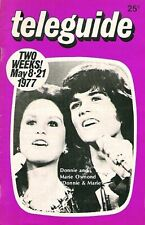 Donny & Marie Osmond 1977 Rare Cover Feature Teleguide Canada Tv Guide