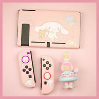 Cute Cinnamoroll Case Cover for Nintend Switch Console With Screen Protector