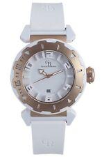 Giulio Romano Mens GR-5000-24-001.09.7 Ferrara Rose Gold IP Rotating Bezel Watch