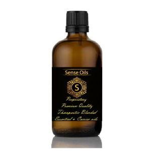 ESSENTIAL & CARRIER OIL Therapeutic SKIN MOISTURISING Sense Aromatherapy BLENDED
