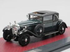 Matrix Scale Models 1927 Hispano-Suiza H6B Park Ward Coupe #11608 green 1/43