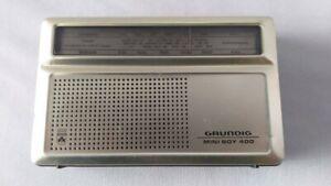 Vintage GRUNDIG Mini Boy 400  Radio  UNTESTED