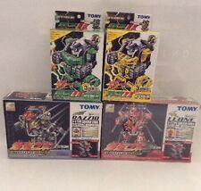 Bakuso Robo (Tomy) Runner Set (With Fbr Extras) Lot Of 4 Items