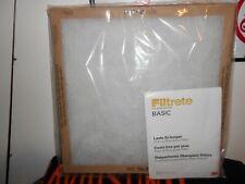Filtrete Basic flat panel furnace filter 20x20x1 2 per pack
