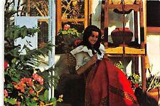BG11891 women types folklore agoimes sur de gran canaria artesania  spain