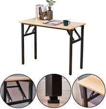 Modern Office Folding Computer Desk Writing Simple Study Industrial Style Home