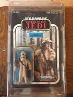 Logray Vintage Star Wars Figure Boxed 65 Back.