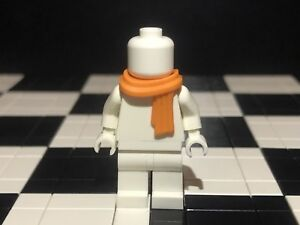 Lego Minifigure Scarf / Bodywear / Accessory / White Minifigure Not Included.
