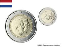 2 Euros Commémorative PAYS-BAS 2014 Double Portrait - UNC