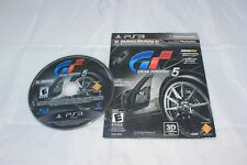 Gran Turismo 5 XL Edition PS3 Not for Resale Sleeve Version USED