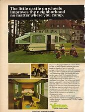 Original 1973 Venture Travel Trailer Magazine Ad