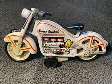 """8"""" Tin Harley Davidson Police Motorcycle"""