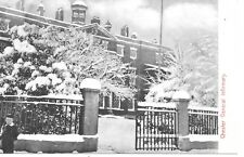 Chester General Infirmary in the Snow Cheshire