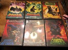 Godzilla DVD Lot #6