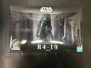 Bandai Spirits Star Wars R4-I9 1:12 Scale Plastic Model Kit Imperial Droid