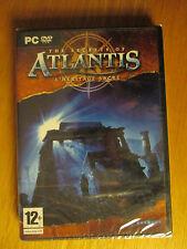 The Secrets of Atlantis : l'héritage sacré / Jeu PC / NEUF sous Blister