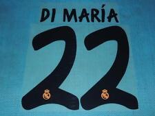 Spanish La Liga  2013-2014 Real Madrid #22 Di Maria Homekit NameSet Printing