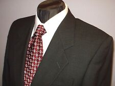 Jones New York 2btn olive birds eye Golden Twist wool suit  39 R