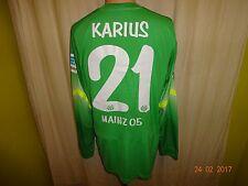 FSV Mainz 05 Nike Torwart Spieler/Matchworn Trikot 2014/15 + Nr.21 Karius Gr.L