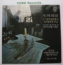 CFP 123 - SCHUBERT - Symphony No 8 Unfinished - KLETZKI RPO - Ex Con LP Record