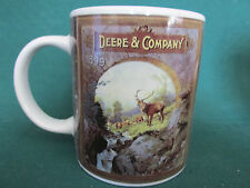 "John Deere & Company Mug-Cup Deer is Pictured on Both Sides by Gibson 3.5"" Tall"