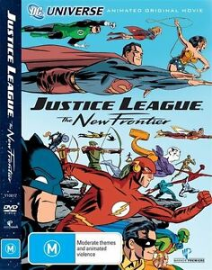 JUSTICE LEAGUE The New Frontier (animated DVD, 2008) - LIKE NEW!!!