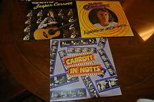 Lot of 3 JASPER CARROTT IN NOTTS,  The Best Of,  LP DJM DJF20 UK pressing NM/EX