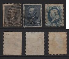 122a**USA-ETATS-UNIS (x3 Timbres-Classic stamps Classiques UNITED STATES POSTAGE